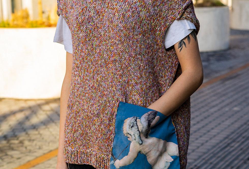 Knitted Angel Vest