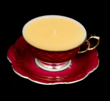 """by Design, """"Antique Teacup"""" candle"""