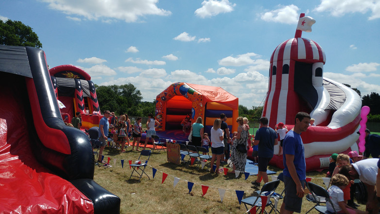 Summer Fair 2017- Inflatables