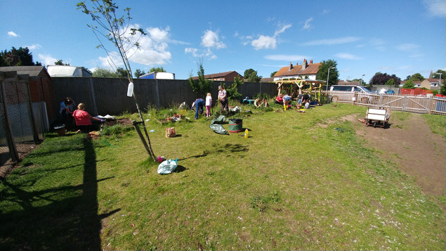 Gardening working party