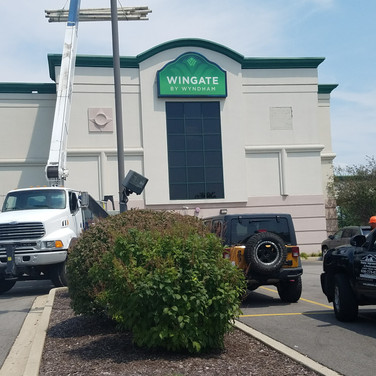 Wingate Commercial Site