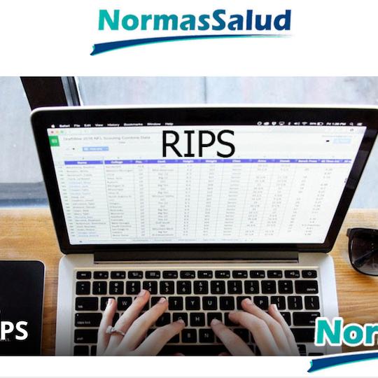 RIPS: Registros individuales de prestación de servicios. Curso web