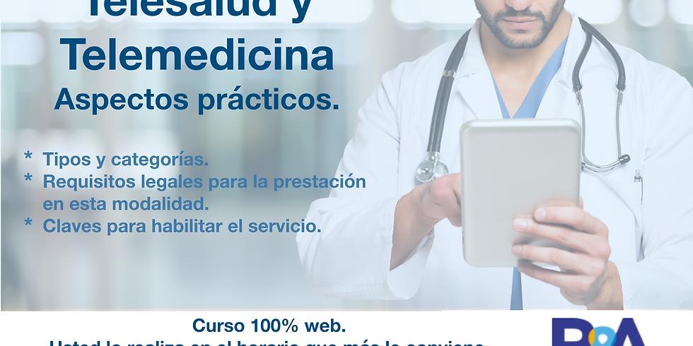 Telesalud - telemedicina. Aspectos prácticos. Curso web asincrónico.