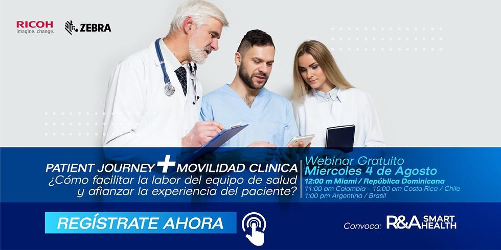 Patient Journey + Movilidad Clínica - webinar sin costo