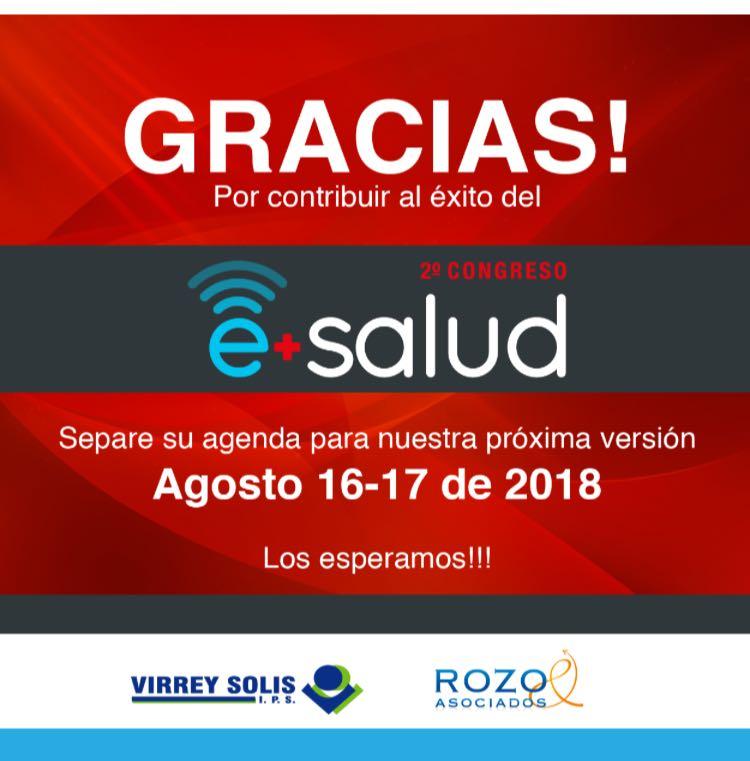 Gracias Congreso eSalud 2017