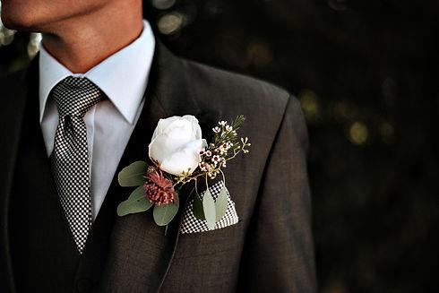 closeup-shot-of-male-wearing-tuxedo-with