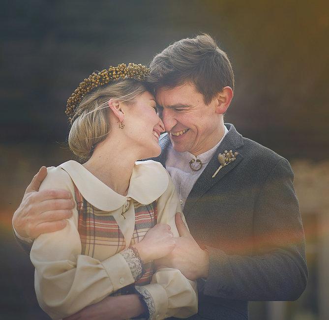 vestuvių fotosesija pagoniškai