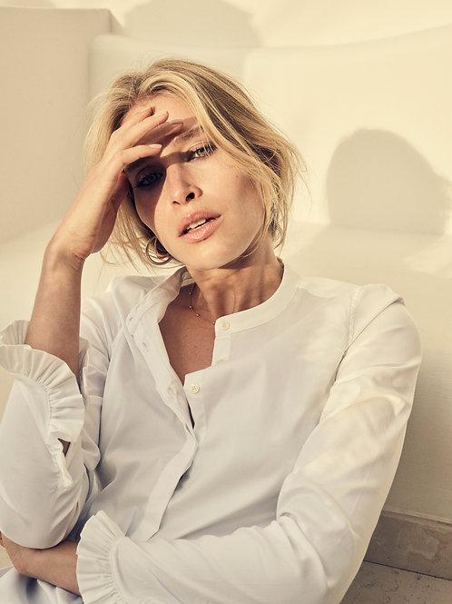 Mattie Sustainable Shirt- blanc