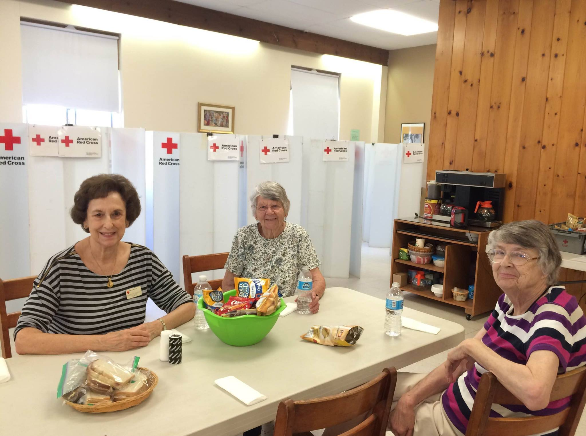 Red Cross Blood Drive support