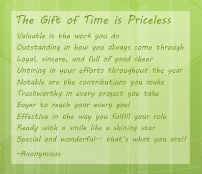 The Gift Of Time Is Priceless Volunteer Opportunities Woodford