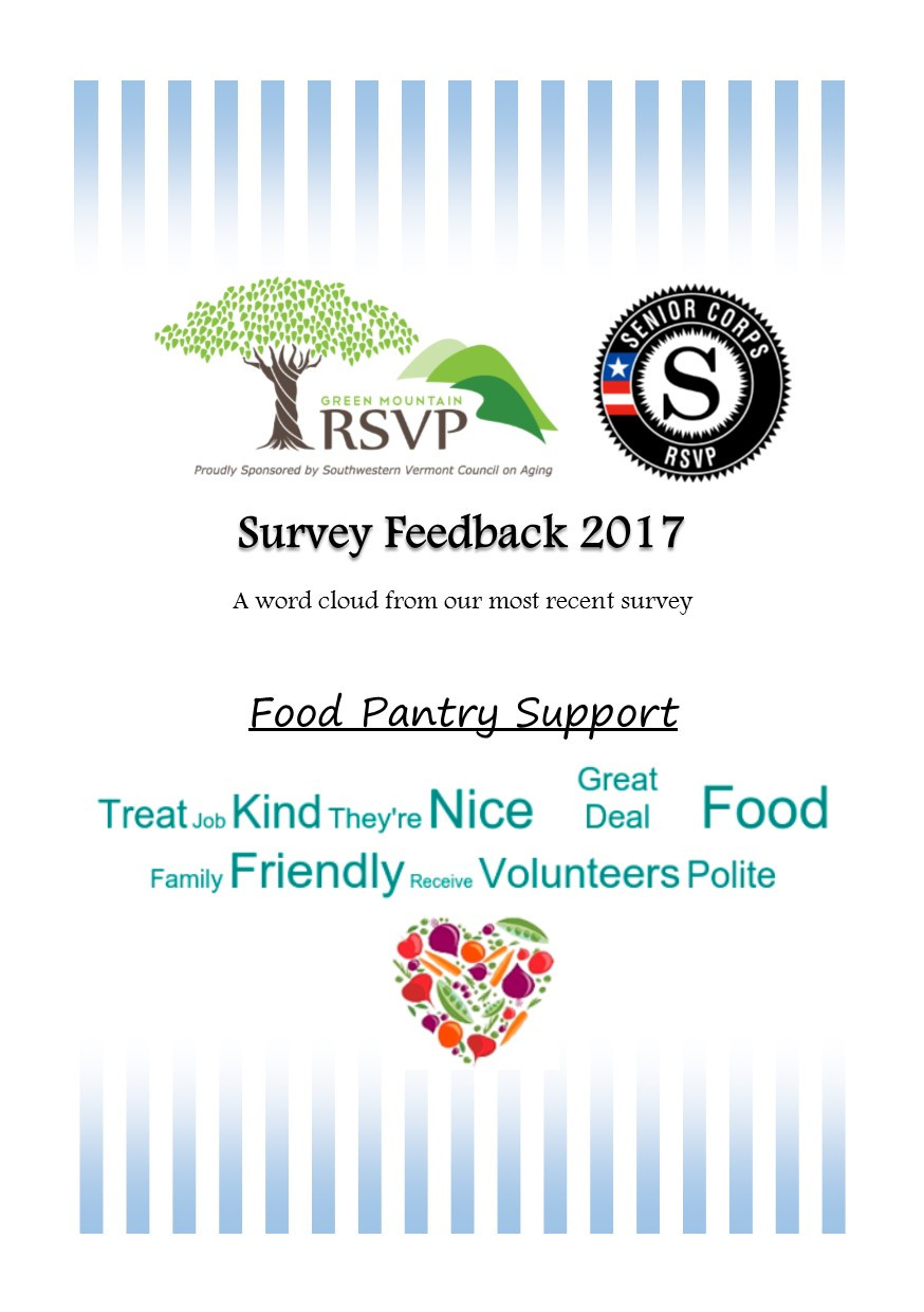 Each year we hand out surveys to several of our workstations to help gather data on the impact that our volunteers and the programs that they donate their time to have on their communities.