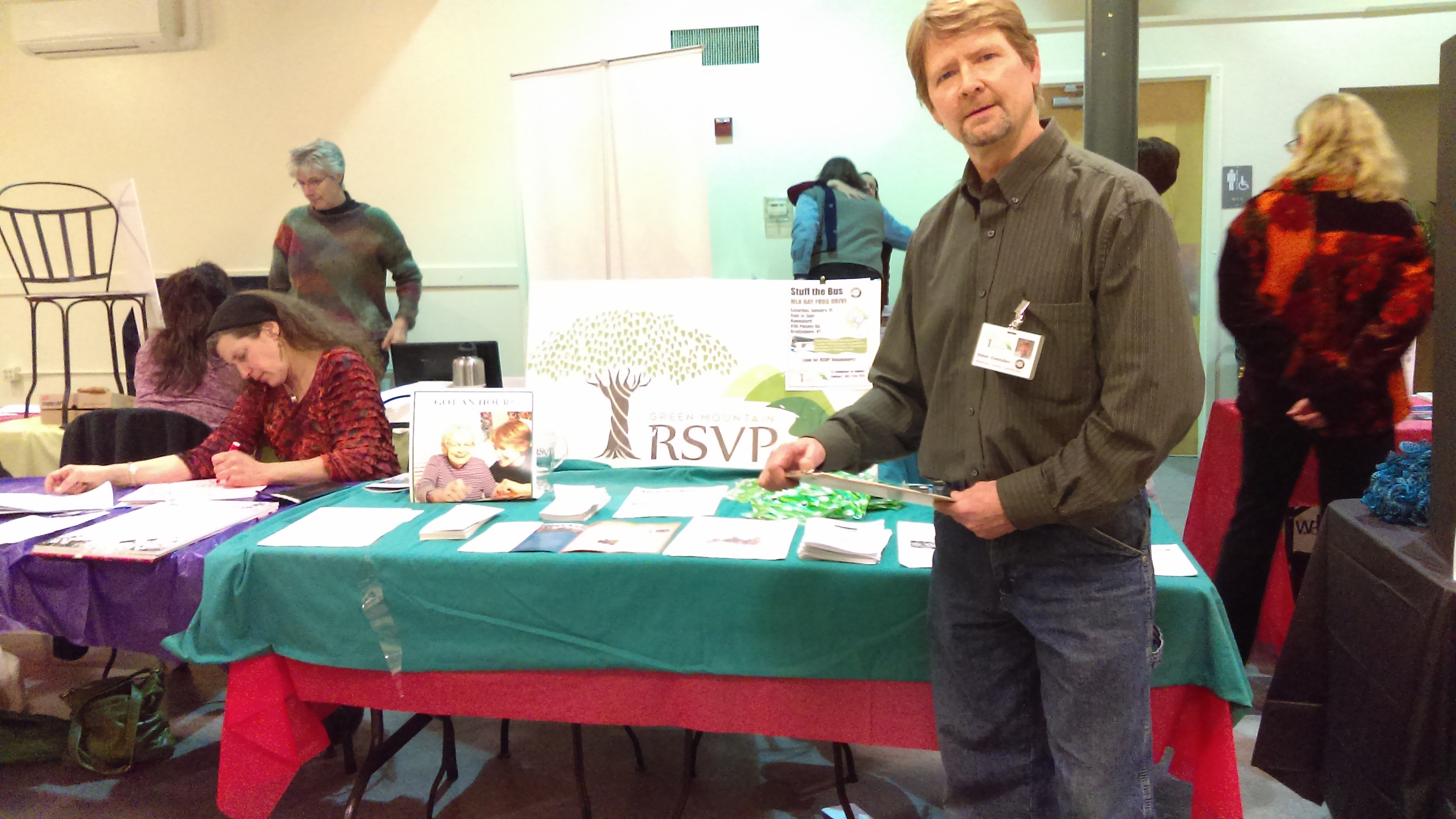 Steve Ovenden - Nonprofit Fair Bratt