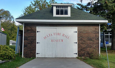 Delt Fire Hall, Old Stone Mill, Delta Ontario