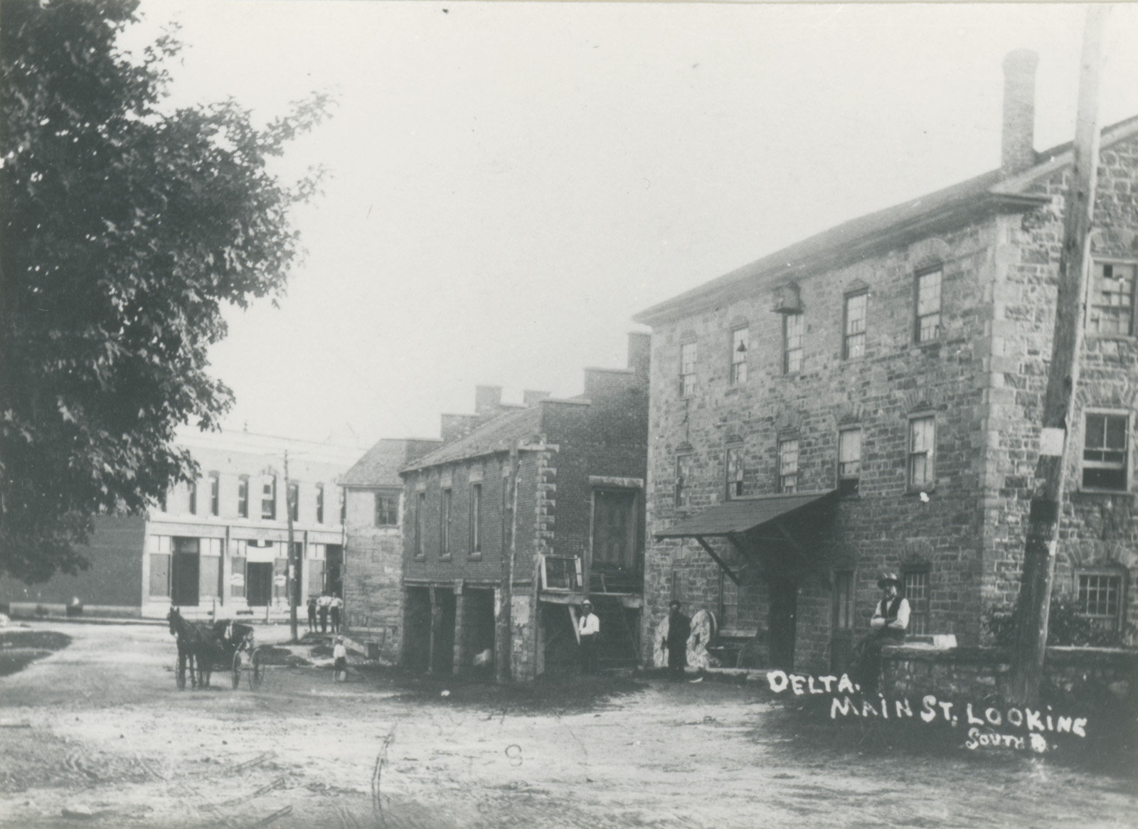 The Old Stone Mill, 1900
