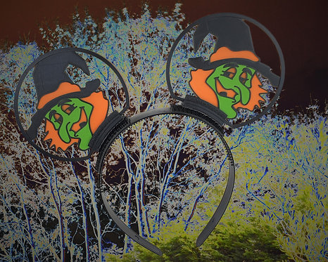 Disney Ears, Smiling Witch. Ideal for Horror Nights.