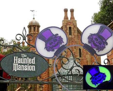 Disney Ears Haunted Mansion HatBox Ghost