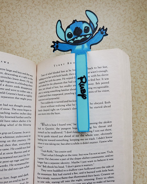 Personalised, STITCH, Book Markers, Set of three