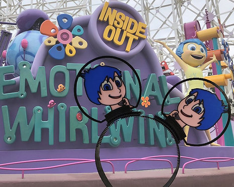 Disney Ears, Inside Outs Joy.