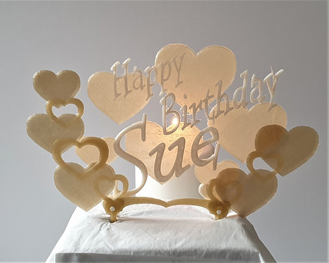 Cake Topper. Personalise Your Birthday Cake