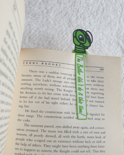 Personalised, BOOKWORM, Book Markers, Set of three