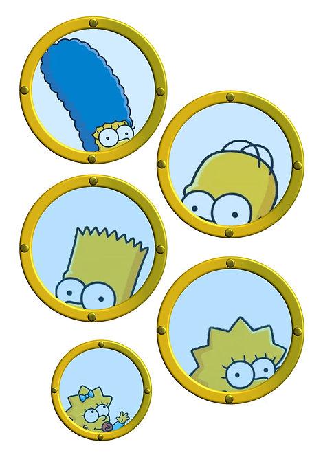 Free Download Simpsons Cruise Door Magnet