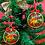 Thumbnail: Santa is Coming, Personalised Christmas Tree Hanger