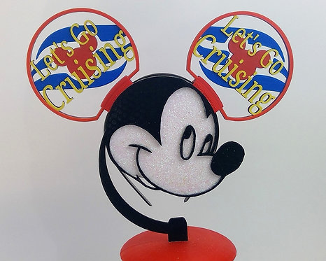 Disney Style Ears. Let's Go Cruising Ears to Help You Set Sail in Style