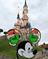 Disneyland Paris Castle Grinch Ears Org1