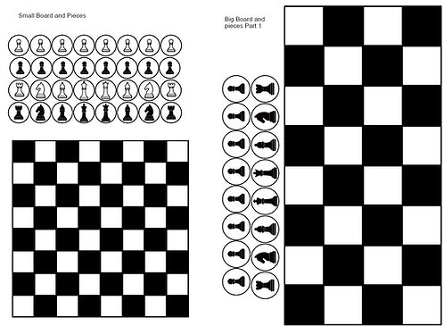 Print and Play CHESS. FREE DOWNLOAD Promo Code is FREEDA