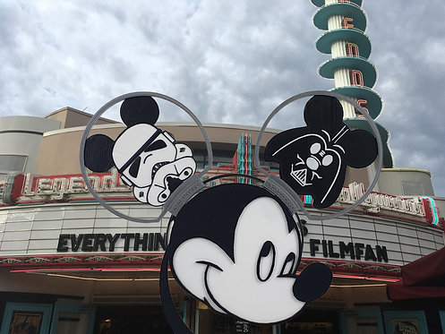 Disney Style Ears with a Star Wars Theme.