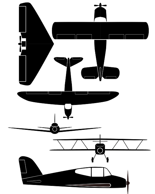 Aircraft Design Pack A for Crafters and Hobbyists svg jpg gif png dxf pdf eps