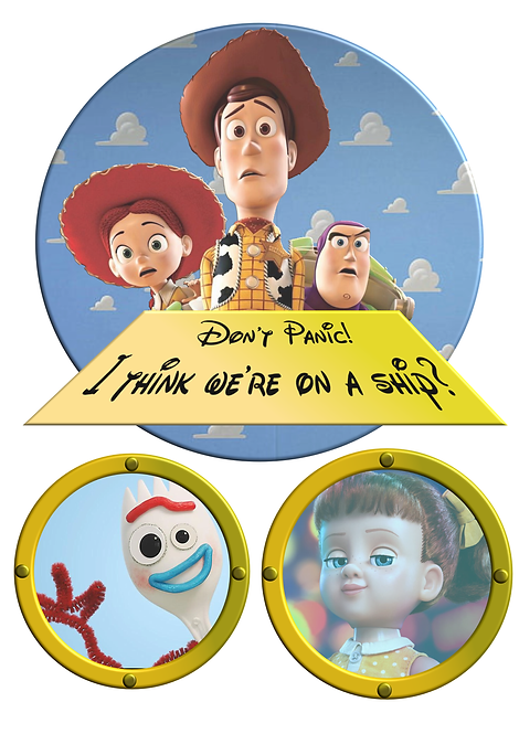 Free Download Toy Story Cruise Door Magnet