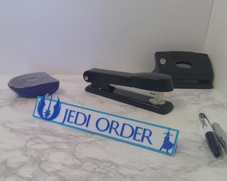 Disney Star Wars Jedi Order Desk Plate, Feel the Force