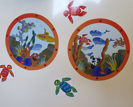 Disney Cruise Line Door Decoration Porthole View  DOWNLOAD