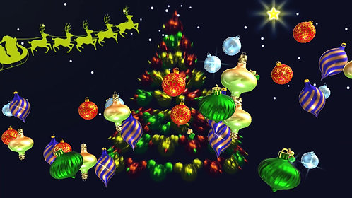Xmas Tree Bauble Storm. FREE DOWNLOAD Promo Code is FREEDA