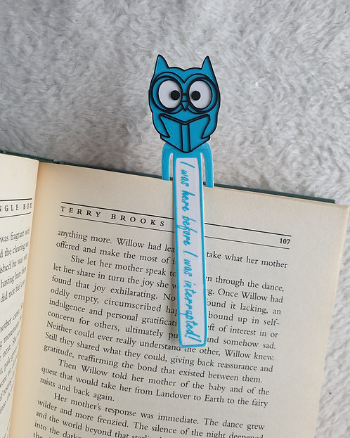 Personalised, Owl, Book Markers, Set of Three