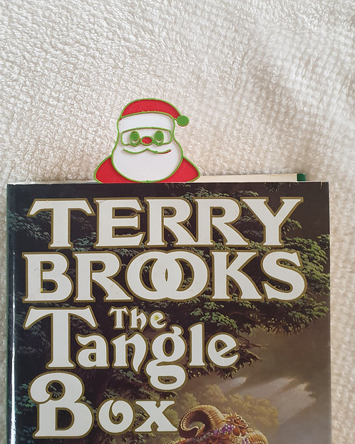 Personalised, Santa, Book Markers, Set of Four