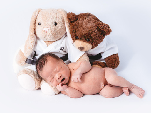 Thomas's Newborn Photos