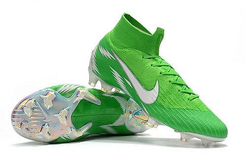 Chuteira Nike Mercurial Superfly 360 VI Elite FG Verde Escuro