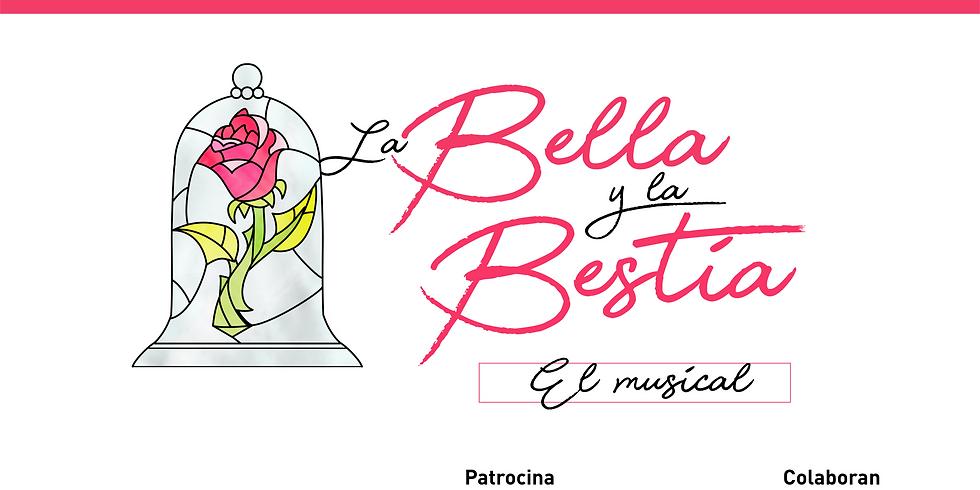 BELLA Y BESTIA, EL MUSICAL / SÁBADO 29 DE MAYO 18:30