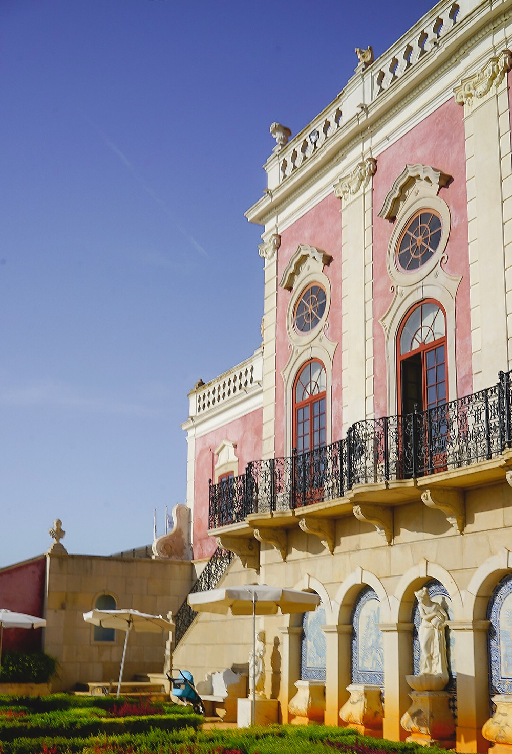 Pousada de Estoi - Palacio de Estoi, Faro Algarve Portugal Wedding Venue