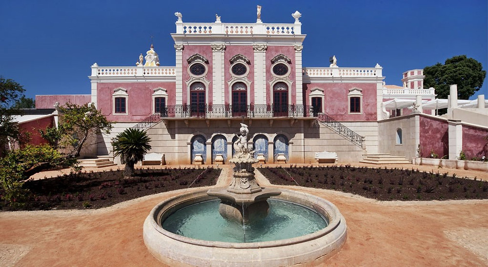 Pousada Palacio de Estoi Palace Wedding Venue in Algarve Portugal with Photo Booth