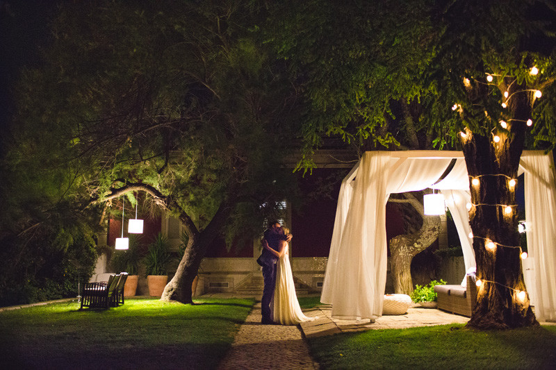 Os Agostos Top Wedding Venue in the Algarve Portugal Photo Booth Fairy Lights