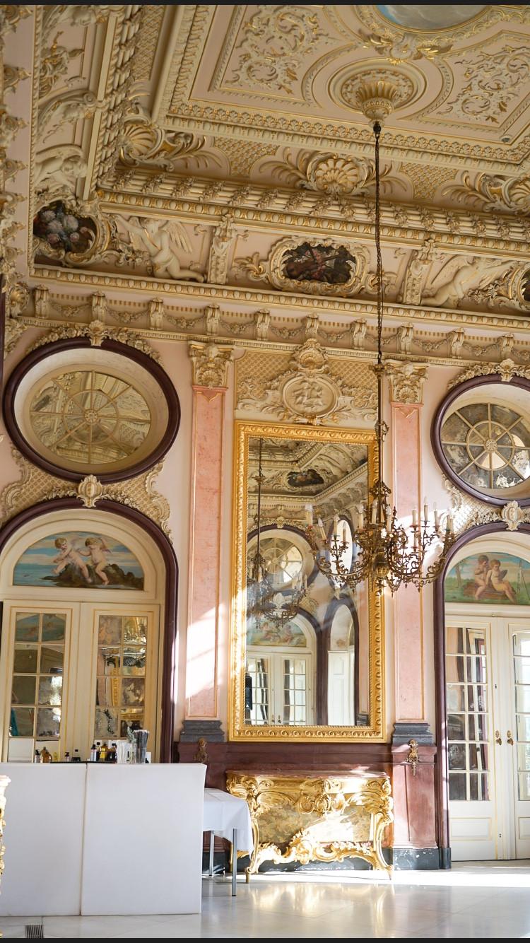 Interior of Pousada Palacio de Estoi Faro Algarve Wedding Venue Portugal