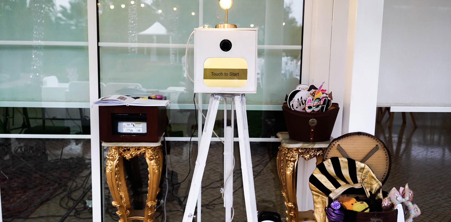 Rustic Wedding Photo Booth Algarve