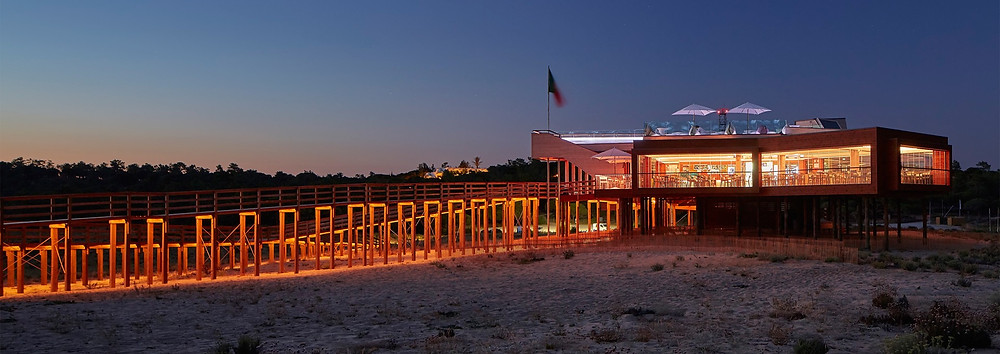 Dos Passos beach wedding venue in the Algarve Portugal with photo booth