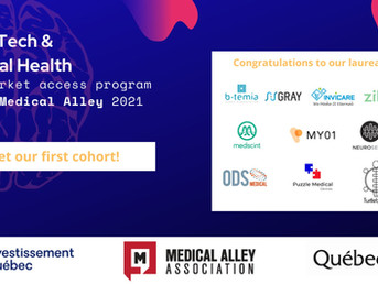 Puzzle Medical selected by Medical Alley for its U.S. Market Acceleration Program