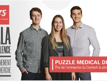 Puzzle Medical named most promising company by Centech
