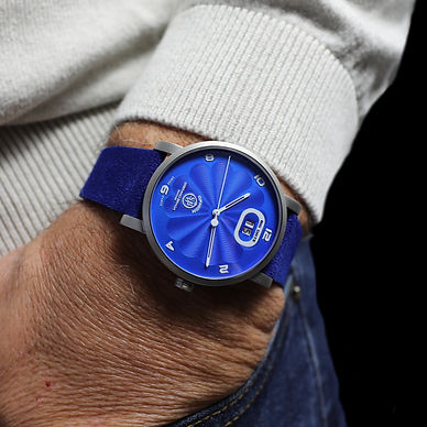 OPHION Blue Stainless Steel