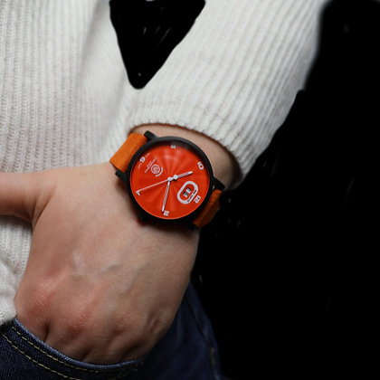OPHION Orange Stainless Steel